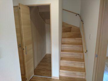 階段下収納 健康住宅
