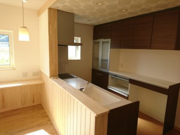 キッチン 健康住宅